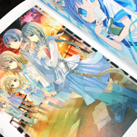 Bungaku Shoujo Fantasy Art Book preview