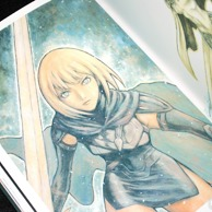 Norihiro Yagi CLAYMORE Illustrations Memorabilia preview