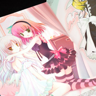 Shirogane Hina's Bougainvill Illustration Book preview