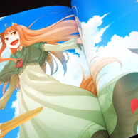 Ayakura Juu Illustrations Spice and Wolf preview