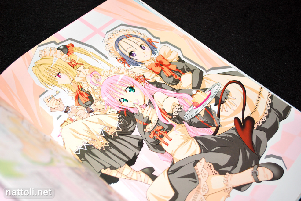 To Love-ru Illustrations Love Color - 20  Photo