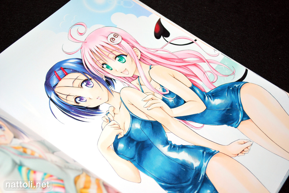 To Love-ru Illustrations Love Color - 25  Photo