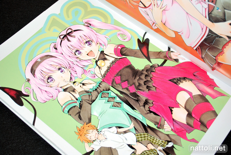 To Love-ru Illustrations Love Color - 28  Photo