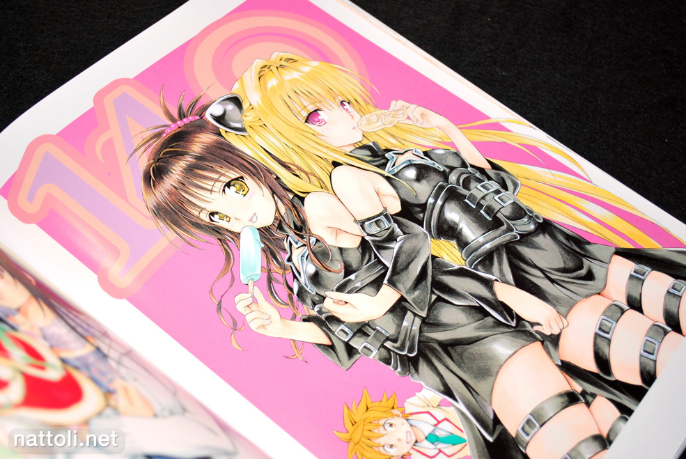 To Love-ru Illustrations Love Color - 29  Photo
