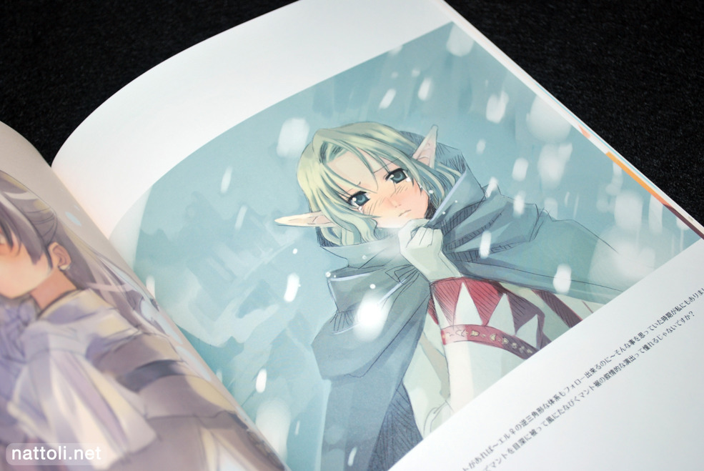 Crying Elf in the Snow  Photo