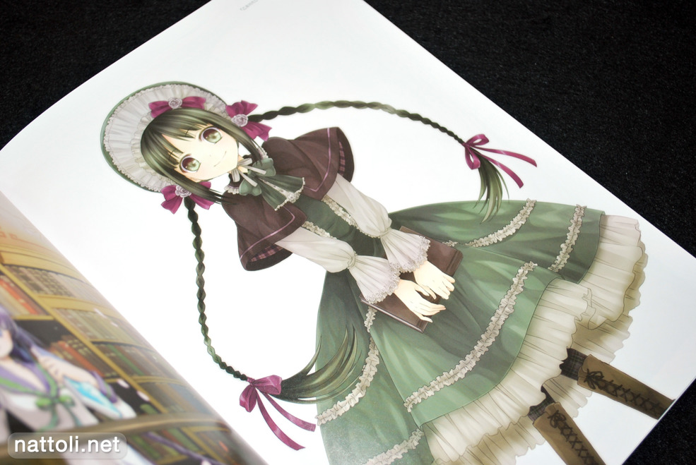 Bungaku Shoujo Fantasy Art Book - 8  Photo