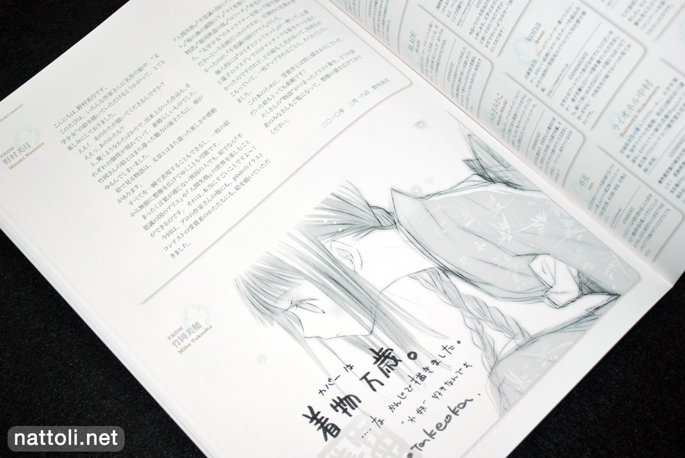 Bungaku Shoujo Fantasy Art Book - 11  Photo