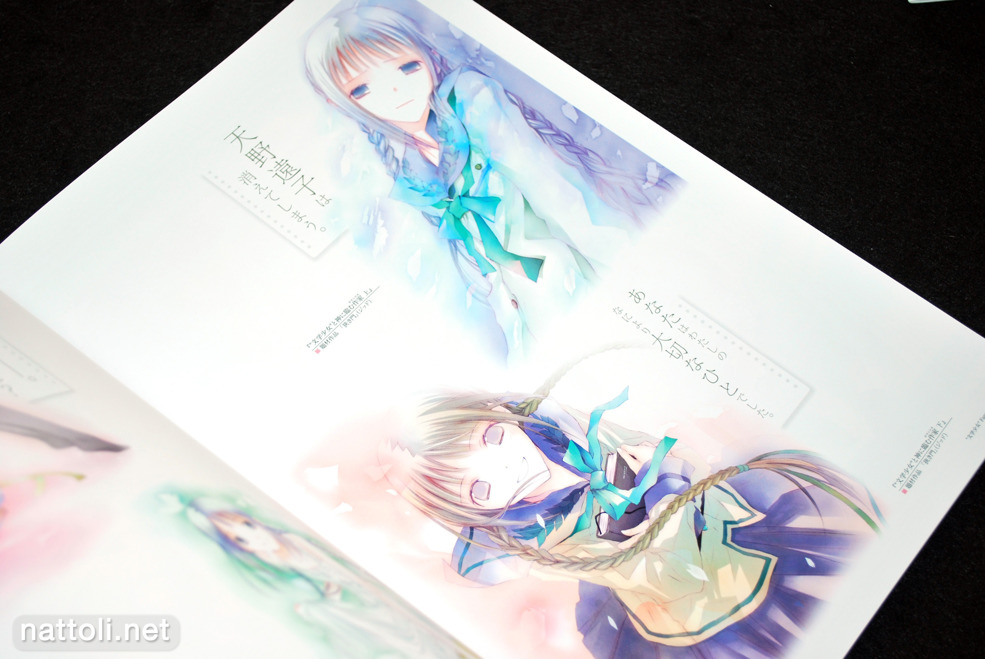 Bungaku Shoujo Fantasy Art Book - 14  Photo