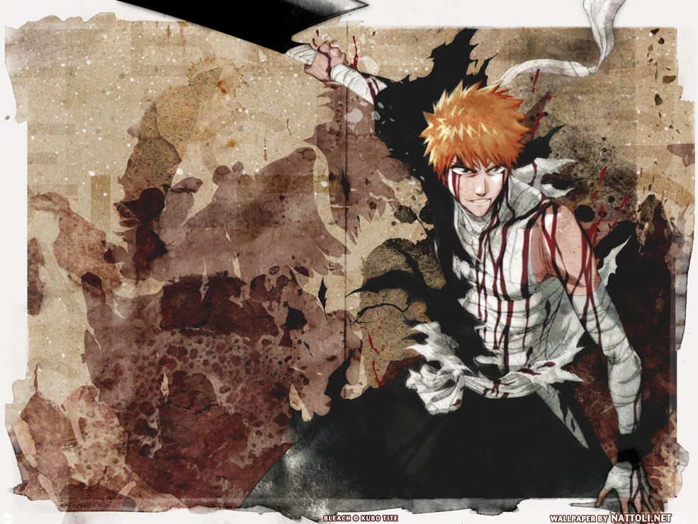 Ichigo in Grunge  Wallpaper