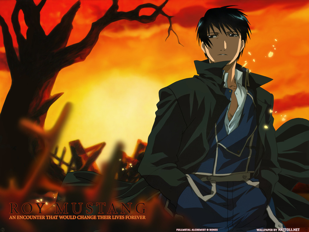 Roy Mustang  Wallpaper