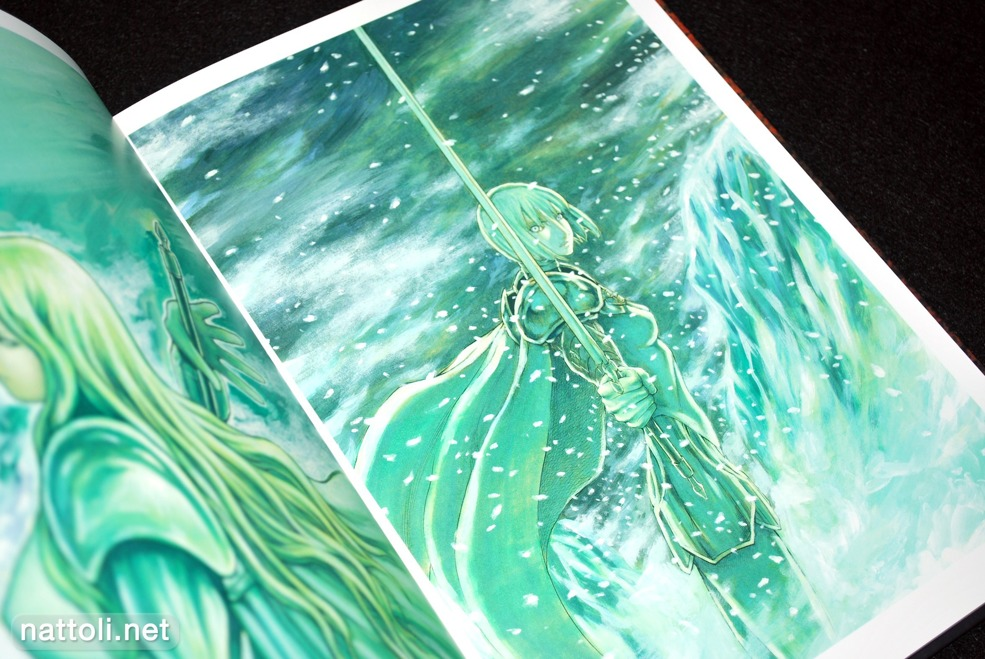 Norihiro Yagi Claymore Illustrations Memorabilia -  Photo