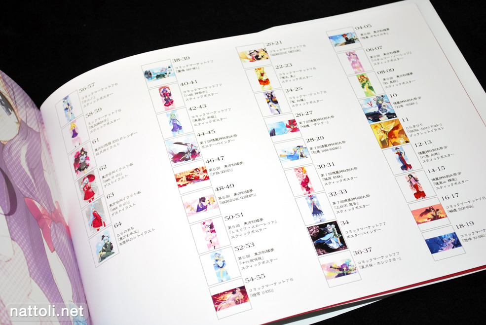 Tonbo Ryo Ueda Touhou Art Collection II - 2  Photo