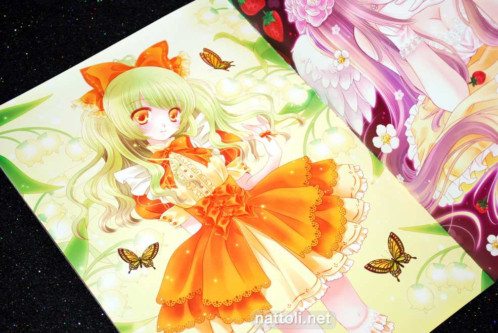 Miyu's Strawberry Waltz Illustration - 3  Photo