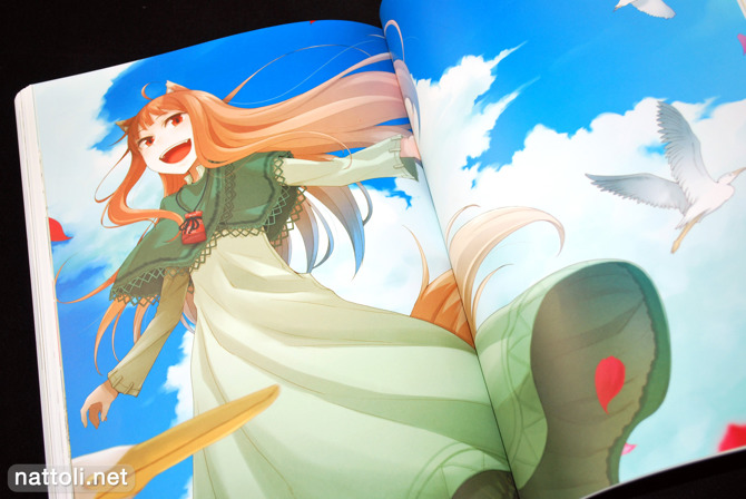 Ayakura Juu Illustrations Spice and Wolf - 30
