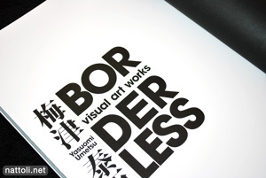 Yasuomi Umetsu Visual Art Works Borderless - 2