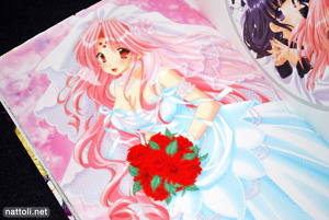 Miharu in a Wedding Dress