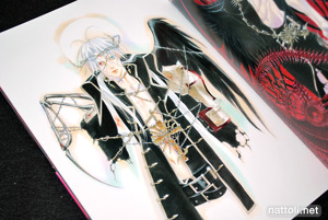 Kiyo Kyujyo Illustrations Trinity Blood Rubor - 33
