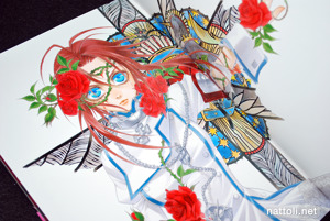 Kiyo Kyujyo Illustrations Trinity Blood Rubor - 35