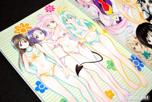 To Love-ru Illustrations Love Color - 7