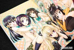 To Love-ru Illustrations Love Color - 13