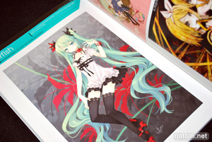 Hatsune Miku GRAPHICS Vocaloid Art and Comic - 22