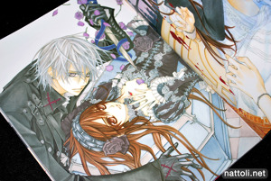Hino Matsuri Illustrations Vampire Knight - 15