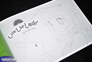 Tiv's Lime Live Louder Rough Book - 2