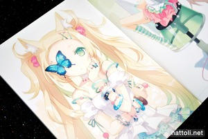 H2SO4's Blonde Blossom Illustration Doujin - 3