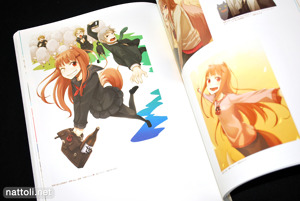 Ayakura Juu Illustrations Spice and Wolf - 28