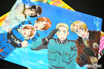 Hetalia Clear File Back