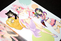 To Love-ru Illustrations Love Color - 15