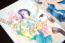 To Love-ru Illustrations Love Color - 26
