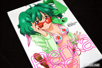 Macross Frontier Visual Collection Ranka Lee - 1